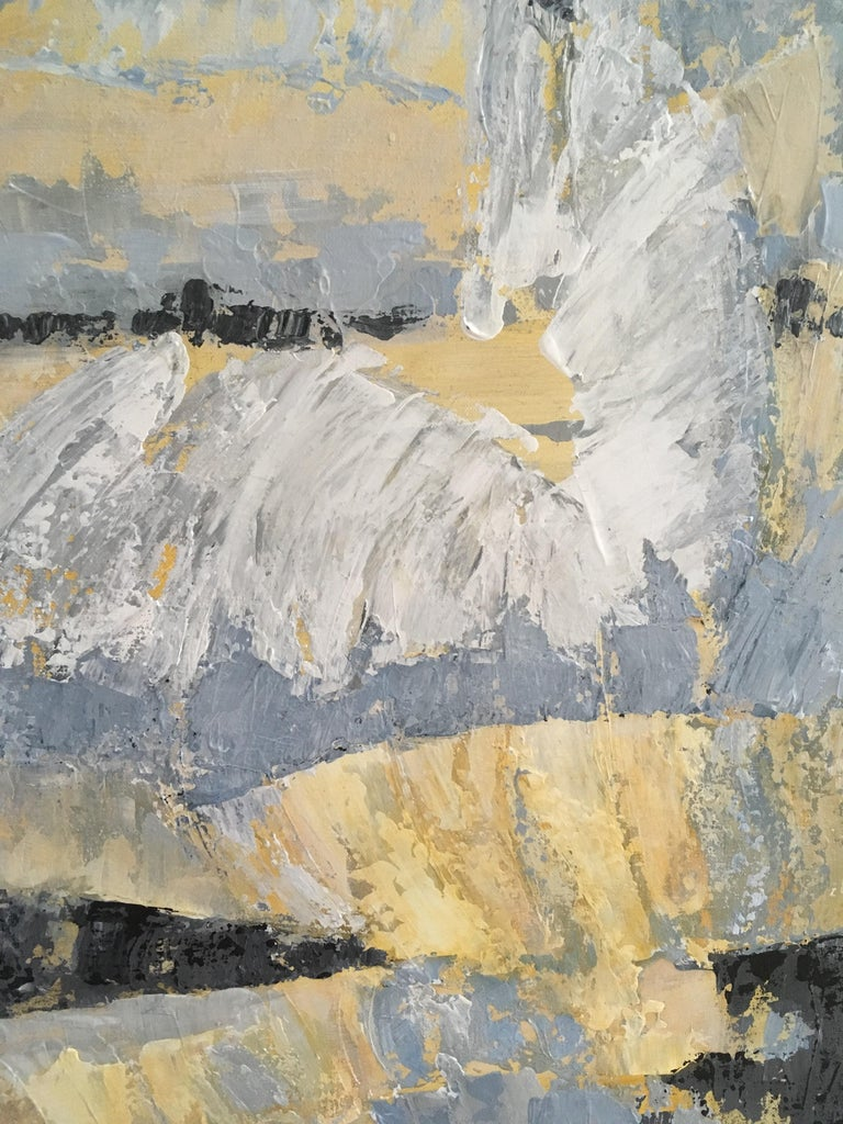 Where Angels Come To Play - Modern Painting by Leith Ridley