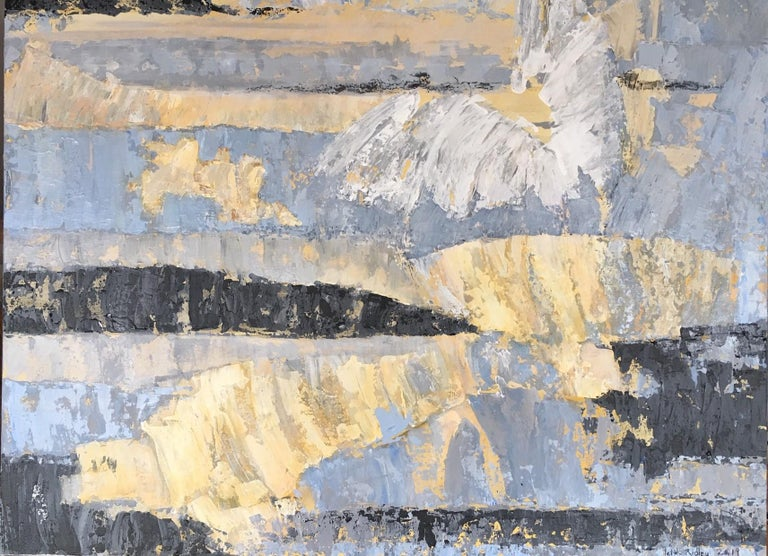 Leith Ridley Abstract Painting - Where Angels Come To Play