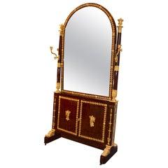Leitizia Bonaparte's, Madame Mere Dressing Mirror and Jewellery Cabinet