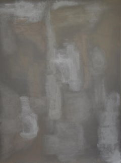 untitled grey and tan no. 1, Painting, Acrylic on Canvas
