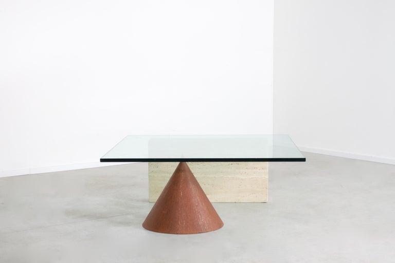 Italian Lela & Massimo Vignelli 'Kono' Coffee Table for Casigliani, Italy, 1970s For Sale