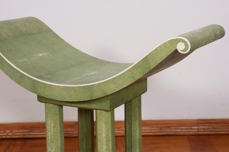 Leleu Art Deco Decorative Chairs In Good Condition For Sale In Bridgewater, CT