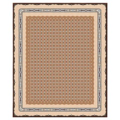 Leleu Noblesse Lilies - Colorful Floral Hand Knotted Wool Silk Rug
