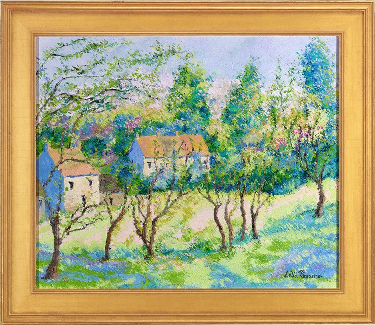 Eternal Spring - Painting by Lelia Pissarro