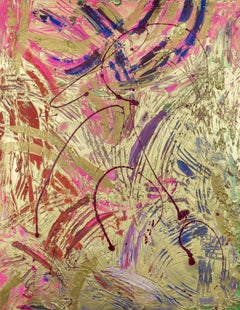 Everything you Touch Turns to Gold by Lélia Pissarro - Abstract Contemporary