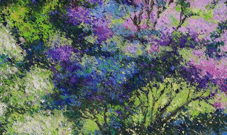 Landscape painting by Lélia Pissarro - Painting by Lelia Pissarro