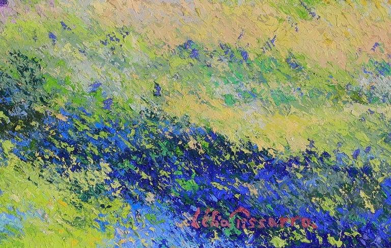 Landscape painting by Lélia Pissarro - Post-Impressionist Painting by Lelia Pissarro