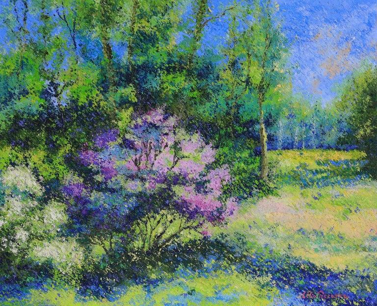 Lelia Pissarro Landscape Painting - Landscape painting by Lélia Pissarro