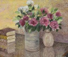 Le Bouquet de Toukie by Lélia Pissarro - Contemporary - Flower painting