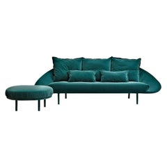 Lem 3 Seat Sofa in Upholstery, by Francesco Beghetto