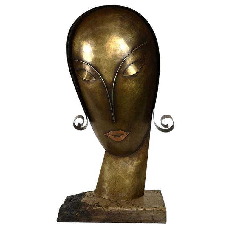 """Lempicka"" by Paul Laszlo Horvath, Original Sculpture, 1970s For Sale"