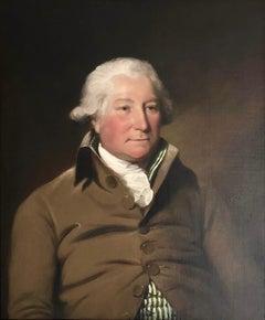 18th Century English East India Company Portrait of Andrew Moffat Esq.
