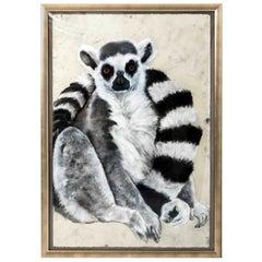 """Lemure"" Pastel on Paper"