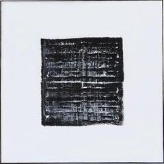 Black Strata Pattern: Milan