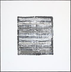Gray Strata Pattern: Berlin
