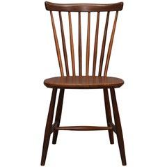 Lena Larsson for Pastoe Solid Teak Chair, 1960s