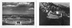 Diptych: Dar Stadion (Stadium) and  Der Fackel laeufer