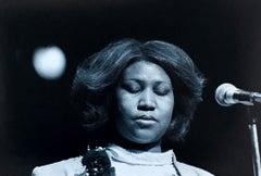 Aretha Franklin photograph Detroit 1980