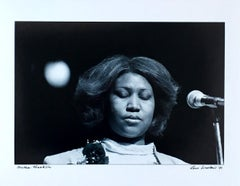 Aretha Franklin photograph Detroit 1980