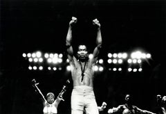 FELA KUTI photograph Detroit, 1986 (photo of Fela Kuti)