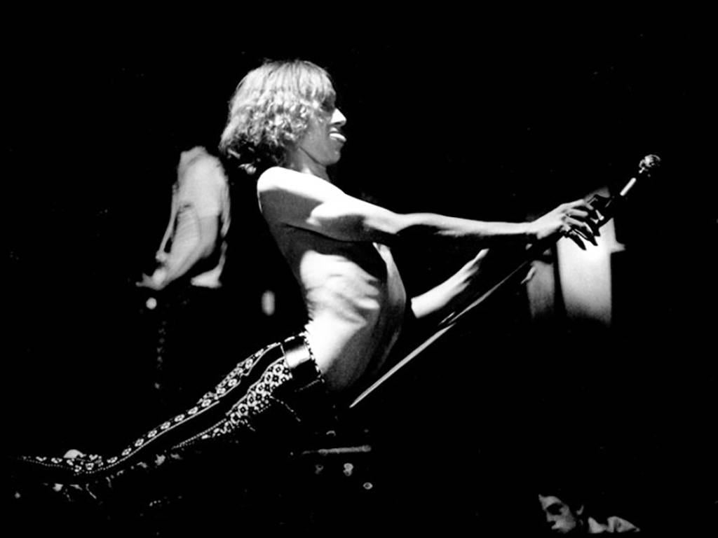 Iggy Pop photograph Detroit 1968 (Leni Sinclair)