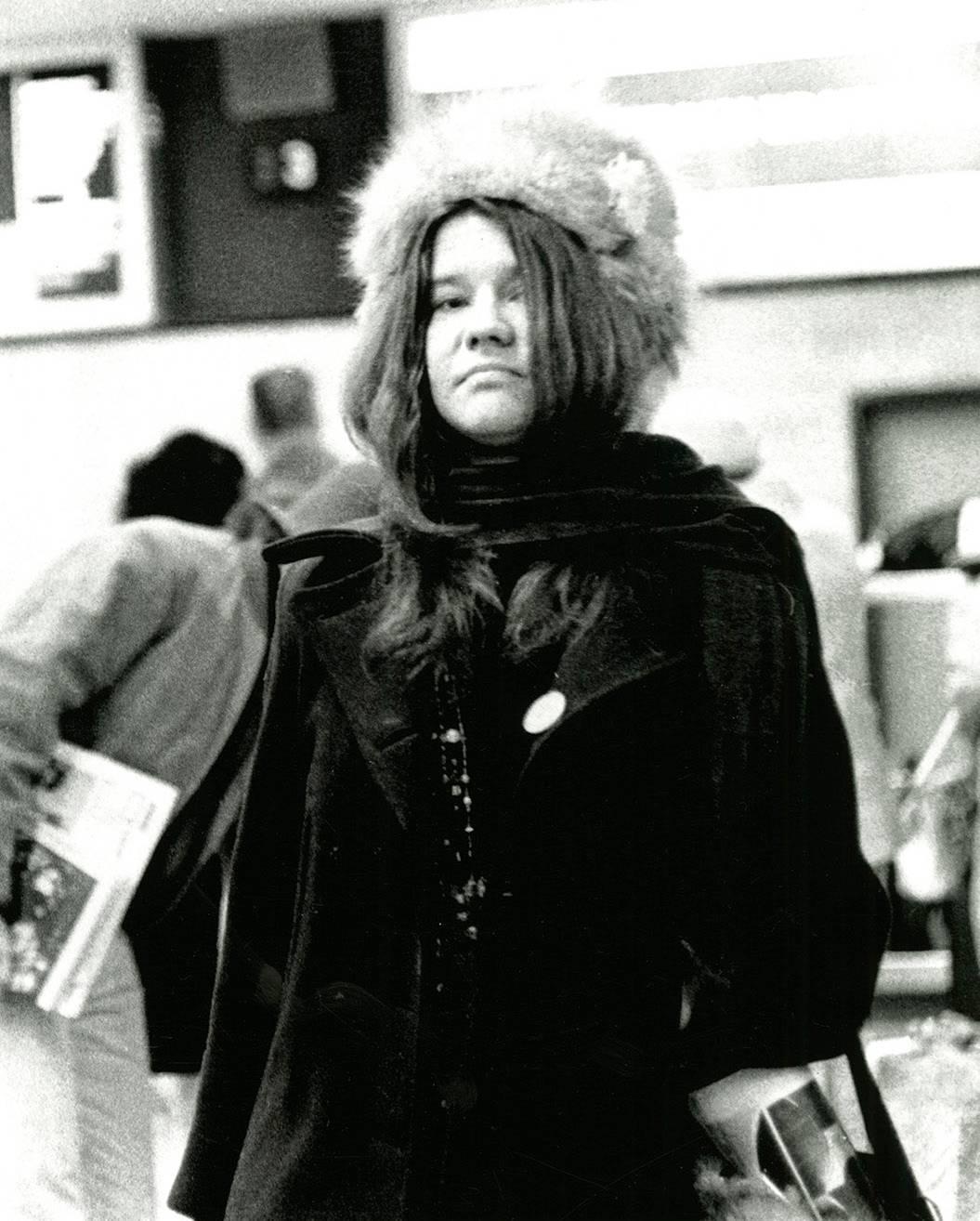 Janis Joplin photograph Detroit 1968 (60s rock photography Leni Sinclair)