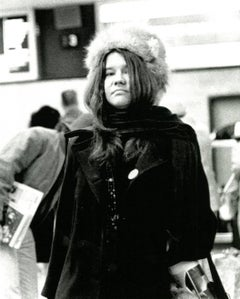 Janis Joplin photograph Detroit 1968 (60s rock photography Leni Sinclair)