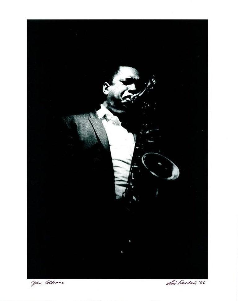 John Coltrane photograph 1960s Detroit (Jazz photography) 1