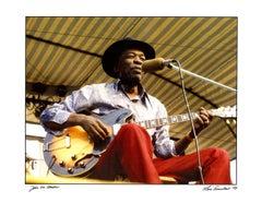 John Lee Hooker photograph Detroit, 1974 (The Blues)