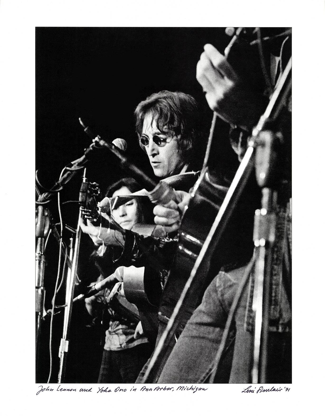 John Lennon photograph Detroit, 1971 (photo of John Lennon)