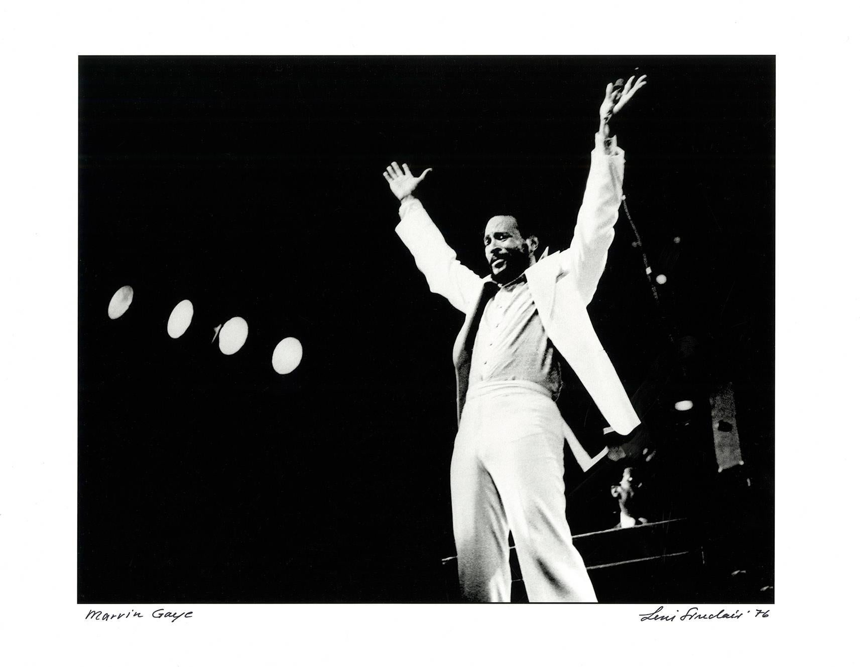 Marvin Gaye photograph, Detroit, 1976 (Motown)