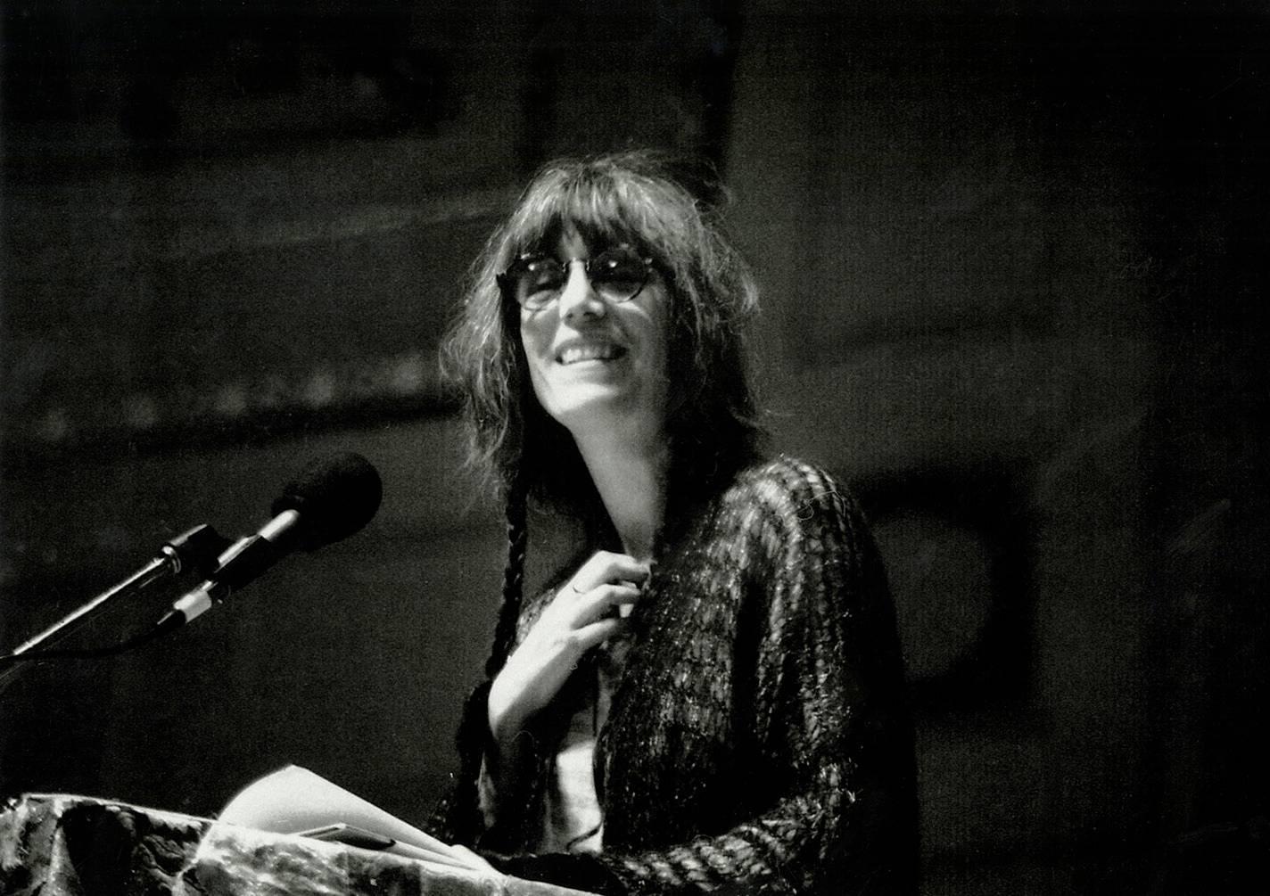 Patti Smith photograph by Detroit photographer Leni Sinclair