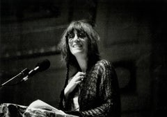Patti Smith photograph by Detroit photographer Leni Sinclair