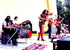 The Grateful Dead, Detroit 1960s photograph (Leni Sinclair Grateful Dead photo)