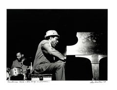 Thelonious Monk photograph Detroit, 1967 (Jazz photography)