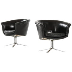 Lennart Bender Easy Chairs Produced in Sweden