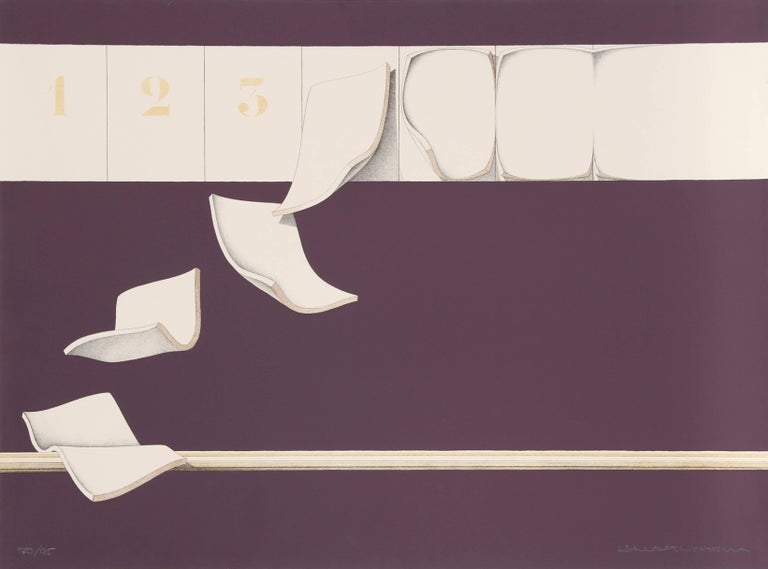8 Sheets, Serigraph by Lennart Nystrom