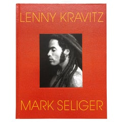 Lenny Kravitz by Mark Seliger Hardcover Book