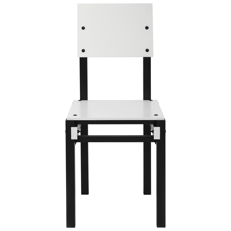 Lensvelt Military Chair by Gerrit Rietveld