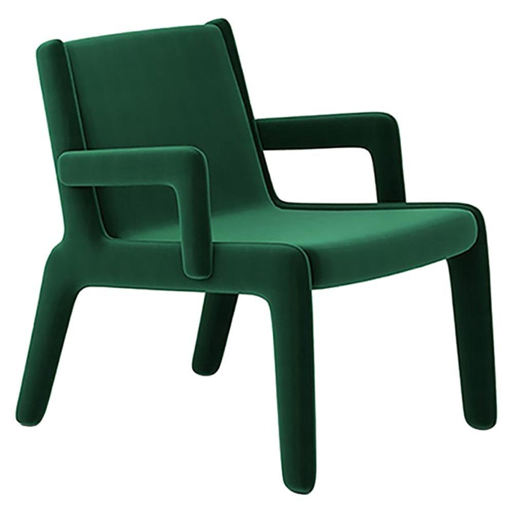 Lento Lounge Chair Jade Green by Frank Chou