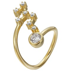 Leo Constellation Ring