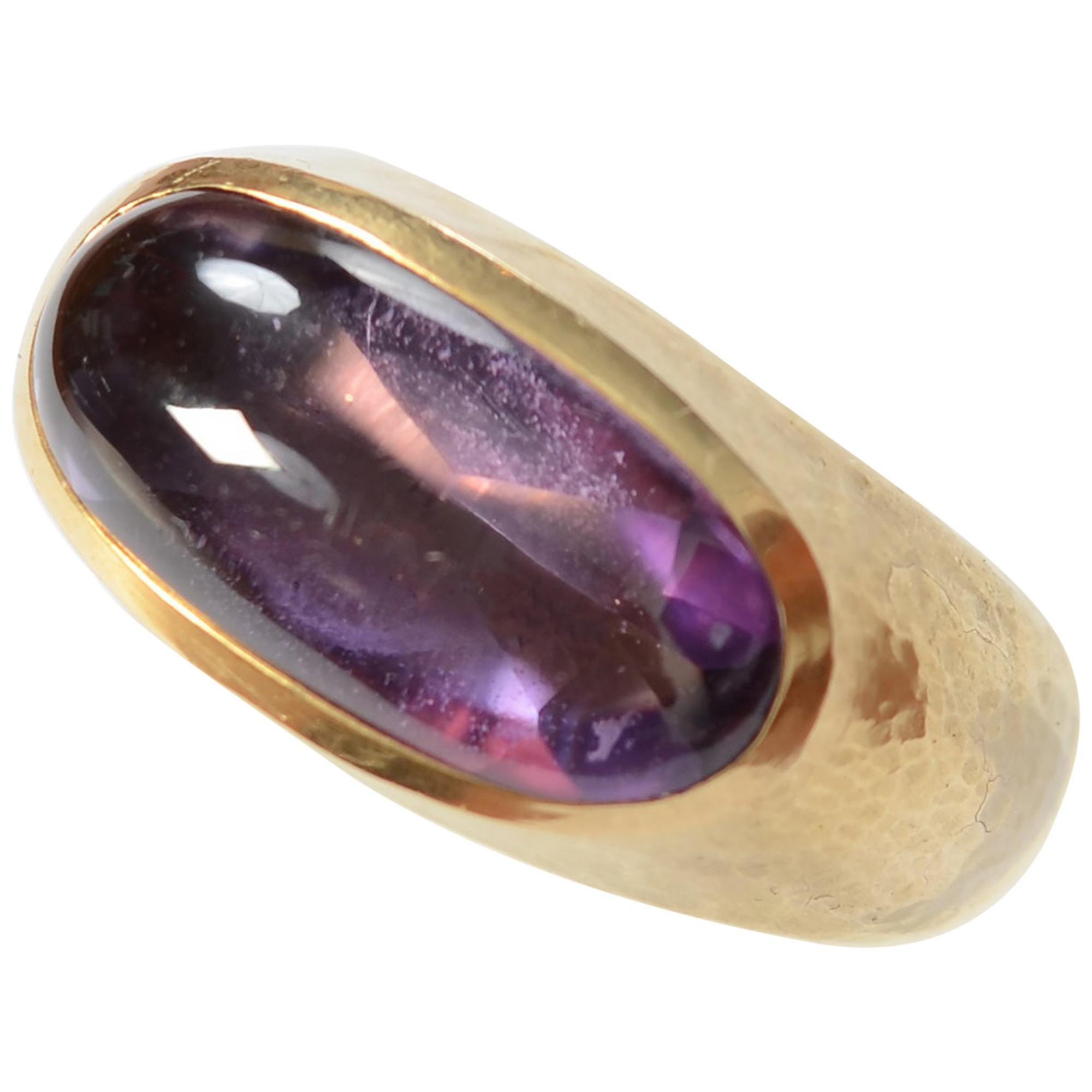 Leo De Vroomen Amethyst Ring