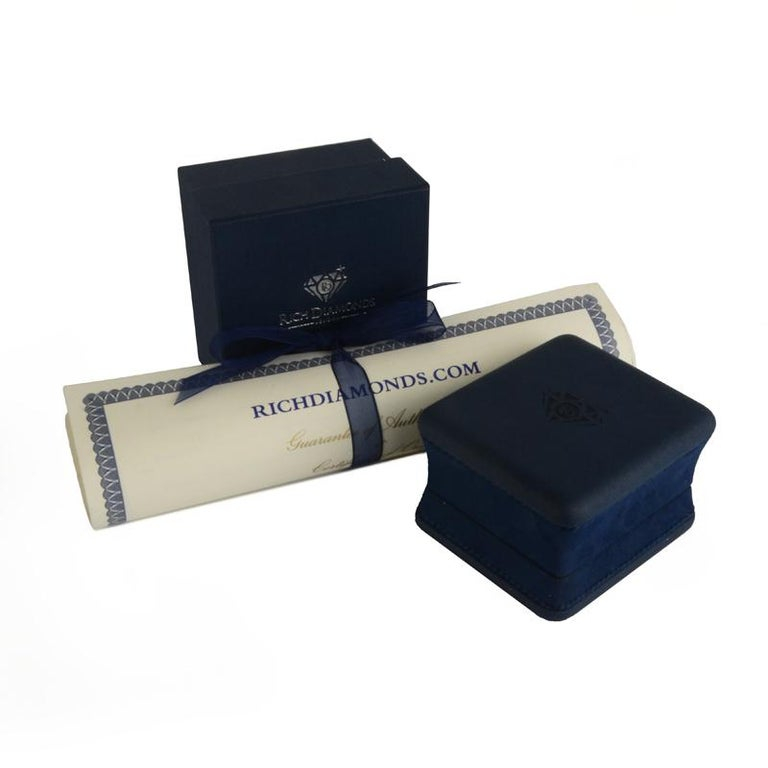 Leo de Vroomen Diamond and Sapphire Ring For Sale 1