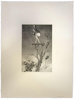 Composition - Original Etching by Leo Guida - 1972