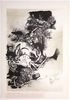 Decadence 2 - Original Etching by Leo Guida - 1965
