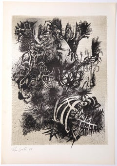 Decadence 3 - Original Etching by Leo Guida - 1965