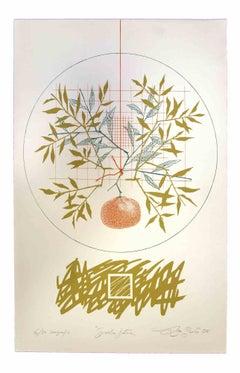 Future Garden - Original Print by Leo Guida - 1976
