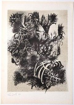 Still Life 1965 - Original Screen Print by Leo Guida - 1965