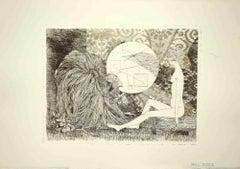 Sybil - Original Etching by Leo Guida - 1970s