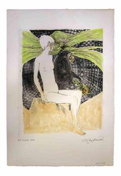 Sybil - Original Print by Leo Guida - 1972